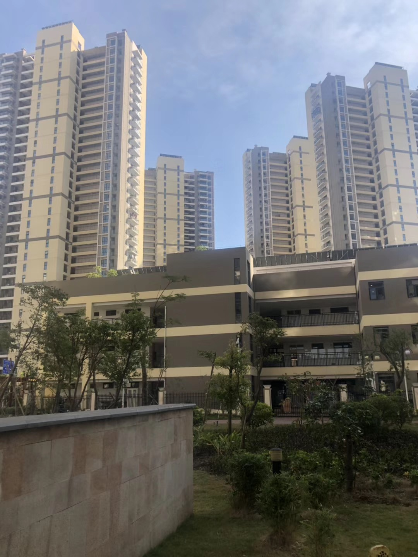 坪山大型花园小区竹韵花园开发商统建楼 小区自带幼儿园