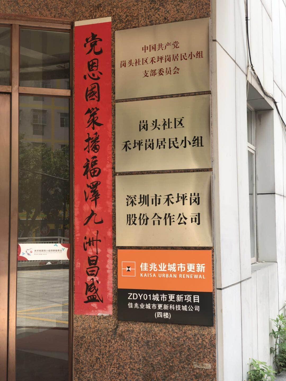 坂田拆迁房-禾坪岗家园 旧改范围项目65.8万买特价二房