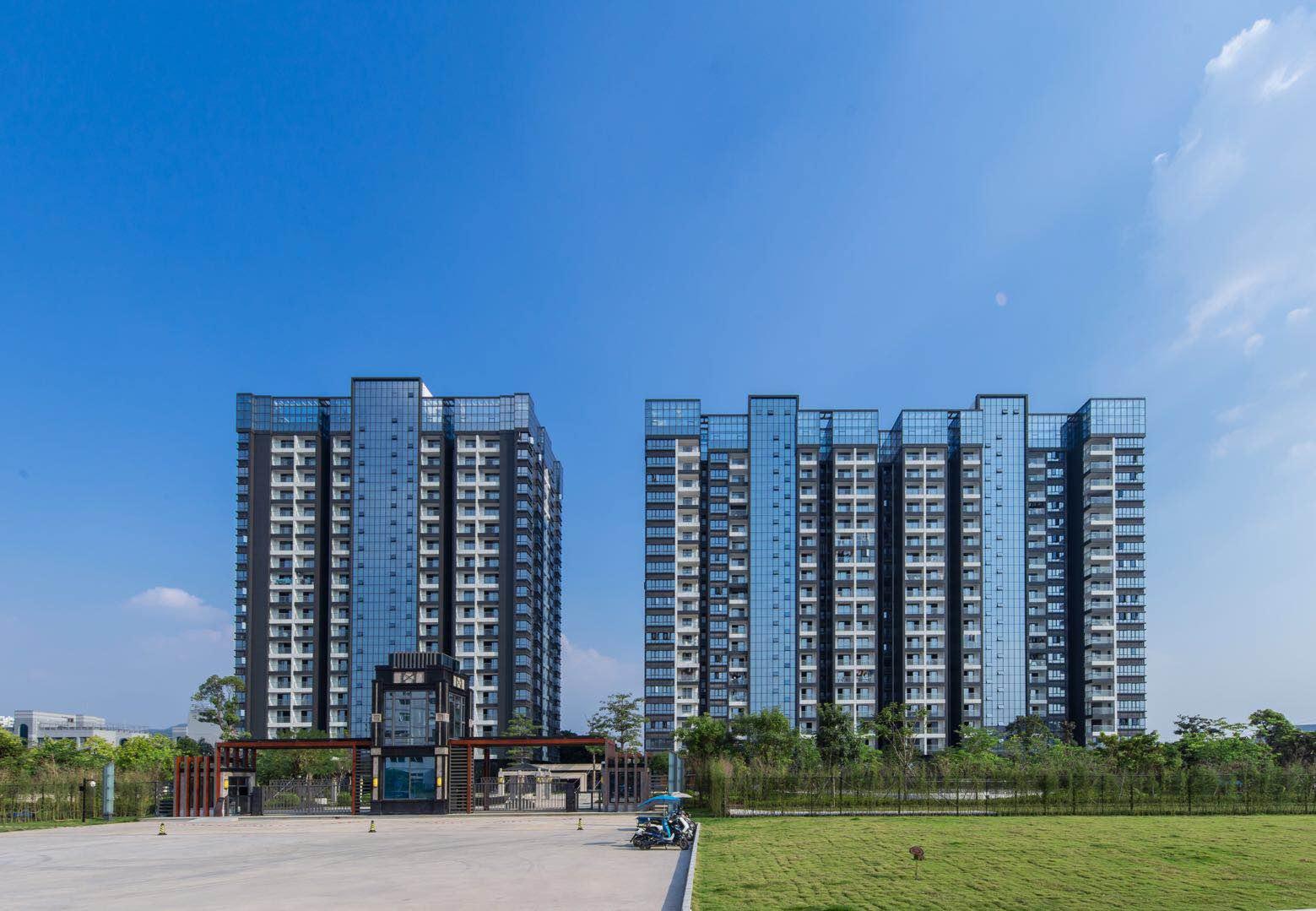 石岩-山水悦城4栋花园社区房首付28万起入住小两房