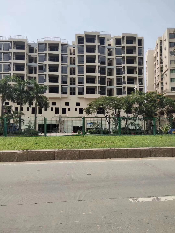 长安-滨海蓝湾 五栋花园房人车分流天然气管道